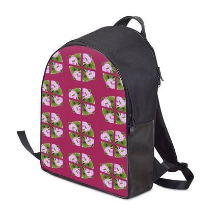 Panda Backpack - Magenta