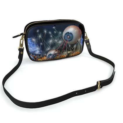 Camera Bag -Invaders - Surreal Art
