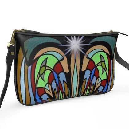 Pochette Double Zip Bag - Dreamcatching