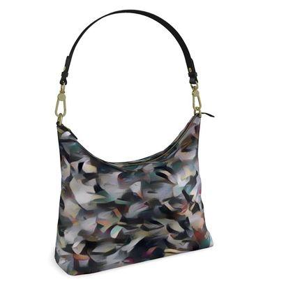 Square Hobo Bag -  Crumpled