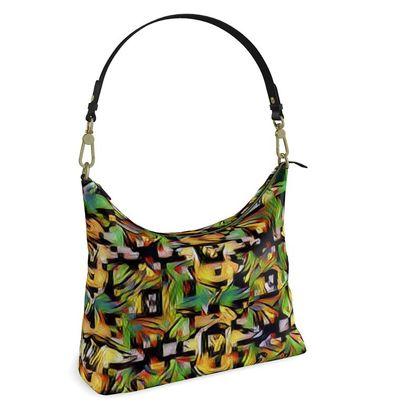Square Hobo Bag -  Autumn Colours