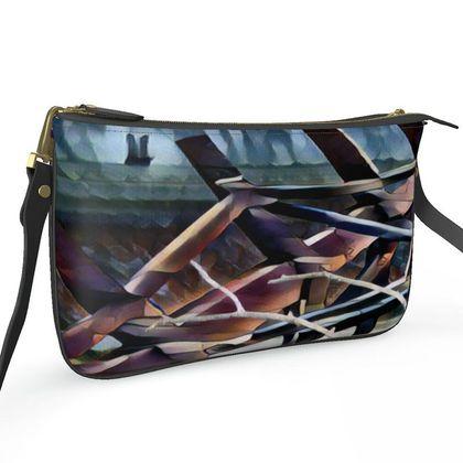 Pochette Double Zip Bag - Old Meets New