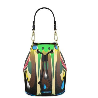 Bucket Bag - Abstract Tears