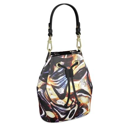 Bucket Bag - The Unseen - Abstract Art