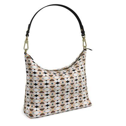 Square Hobo Bag -  Elegant Heart
