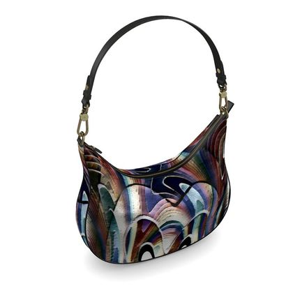Curve Hobo Bag - Dappled Light
