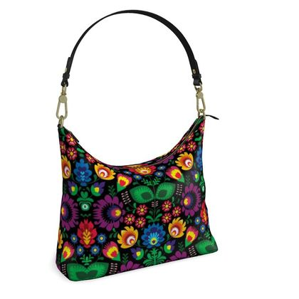 Square Hobo Bag - Summer Dawn Party