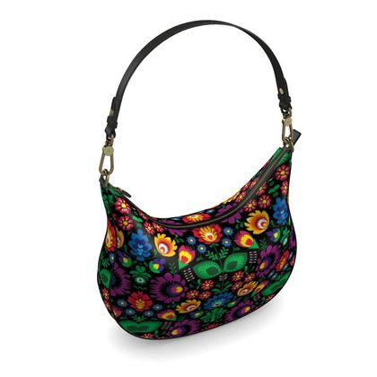 Curve Hobo Bag - Summer Dawn Party