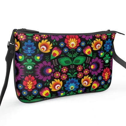 Pochette Double Zip Bag - Summer Dawn Party