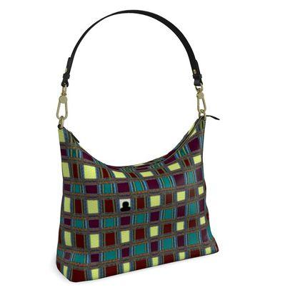 Square Hobo Bag -  Isolation