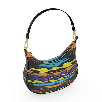 Curve Hobo Bag - Masked Gala Night