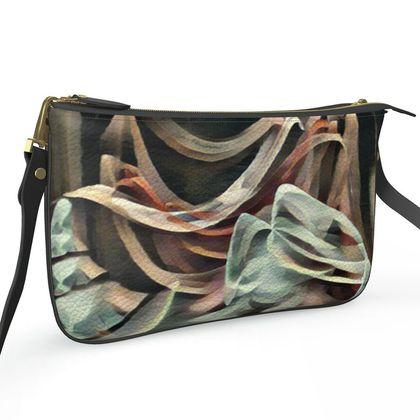Pochette Double Zip Bag - Veiled Dreams