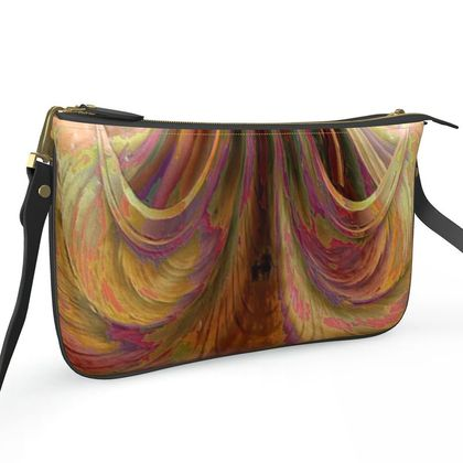 Pochette Double Zip Bag - The Stairs