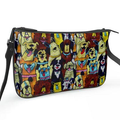 Pochette Double Zip Bag -Faithful Friends