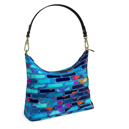Square Hobo Bag -  Foundations