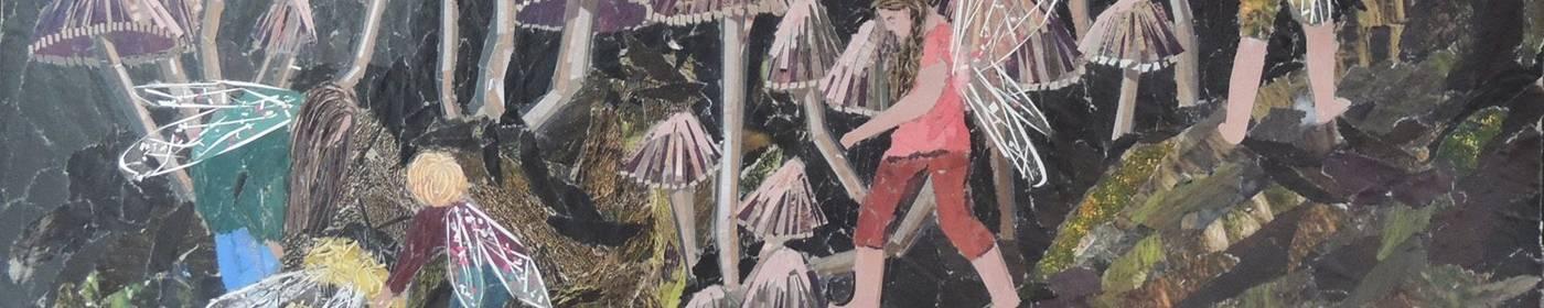 Kirstie Adamson Magazine Collage Artist