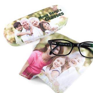 メガネケースプリント
