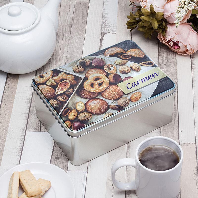 cajas de galletas metalicas personalizadas