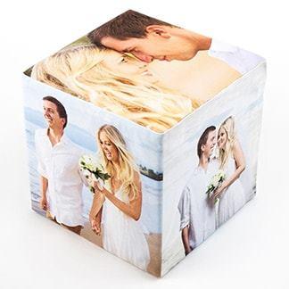Cube photo de couple