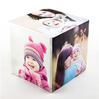 Le cube photo personnalisé