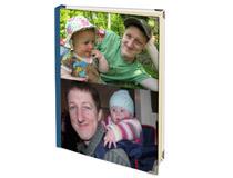 Adressbuch mit Collage