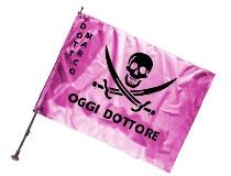 Bandiere personalizzate per neolaureati e feste di laurea