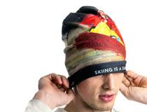 Bedruckte Mütze mit eigenem Design