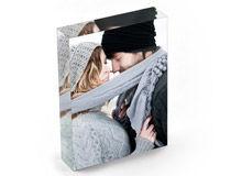 Bloc acrylique photo cadeau de noel pour son copain