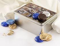 Boîte à biscuit photo cadeau de Noel original