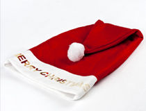 Bonnet de pere Noel personnalise