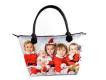 borsa con cerniera personalizzata per natale