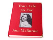 Buch des Lebens rot mit Foto