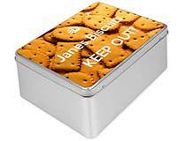 Caja metálica para galletas