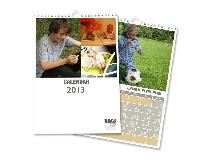 calendari personalizzati con collage fotografico