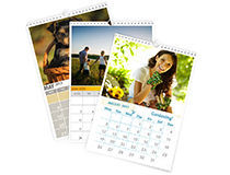 calendrier personnalise photo