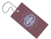 Cartellini abbigliamento personalizzati