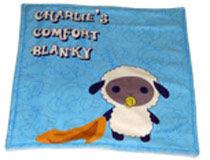 Christening baby comfort blanket