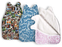 Christening baby sleeping bag