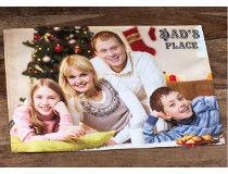 Christmas Photo Table Mat Cloth