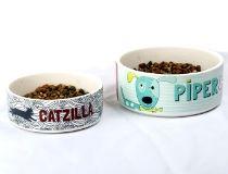 Ciotole per cani e gatti personalizzate