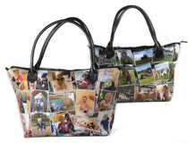 Collage Henkeltasche