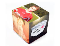 Cubo con fotos personalizado