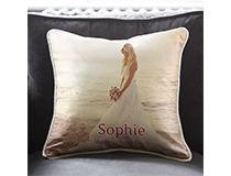 Cuscino in seta personalizzato