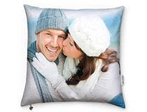 cuscino personalizzato con foto di coppia romantica