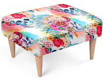 Custom Footstool