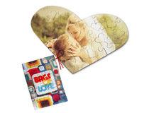 Custom Heart Jigsaw Puzzle