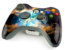 custom printed games controller faceplates