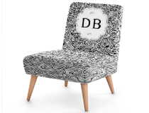 Custom Printed Occasional Chair