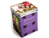 Custom Printed Tea Storage Tin