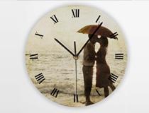 Custom Round Photo Clock